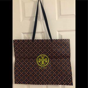"TORY BURCH Paper Shopping Bag - 20"" x 16"" x 6"""